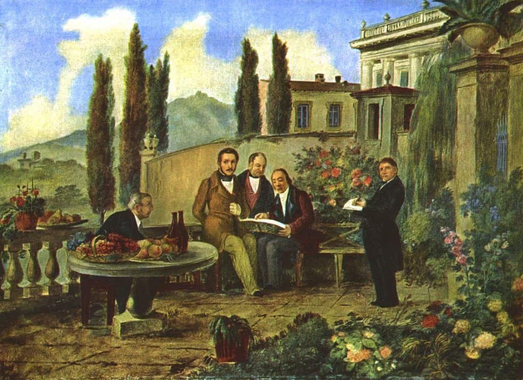 Museo Donizettiano Luigi Deleidi and friends