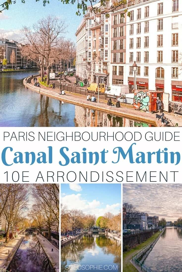 Parisian neighbourhood guide: Canal Saint Martin, 10e arrondissement, Paris, France. Best cafes and bars in the area, things to see and do and where the Parisians really hang out!