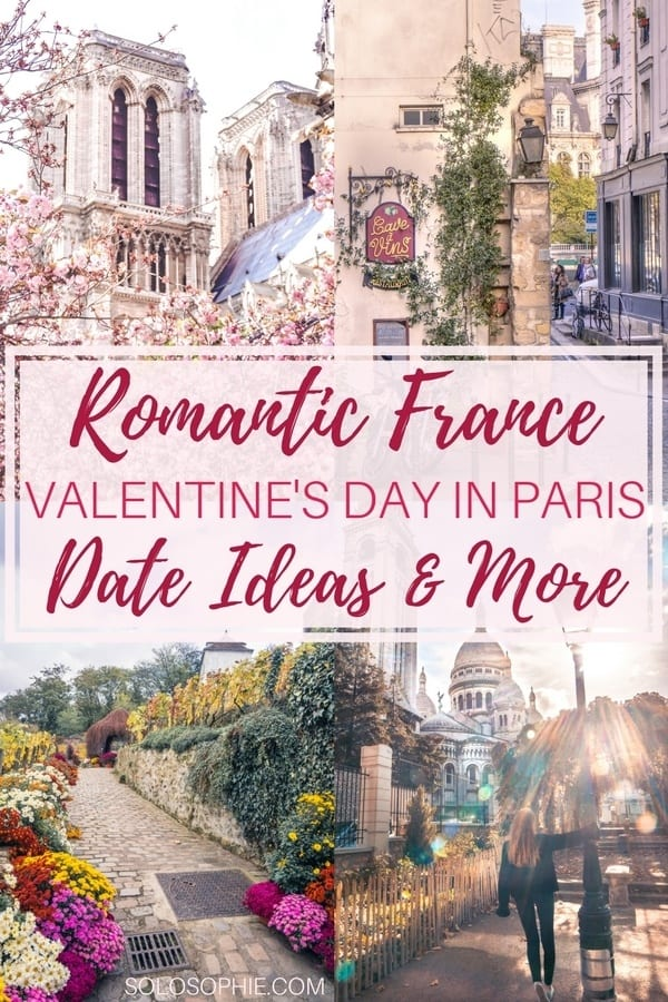 Romantic Paris: Your complete guide to spending Valentine's Day in Paris, France. Date ideas, inspiration and more!