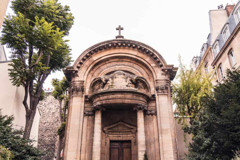 Église Saint-Éphrem-le-Syriaque façade