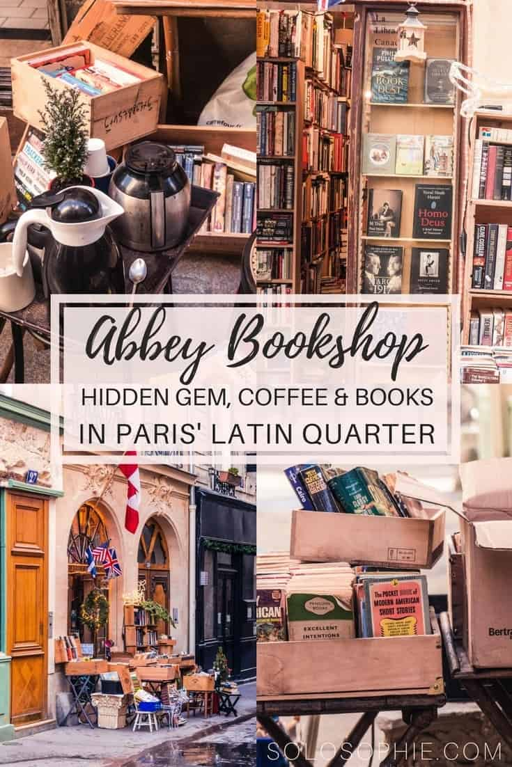 The Abbey Bookshop, Latin Quarter, Paris, France: The other Anglophone bookstore of the 5e arrondissement in the City of Love. Hidden gem filled with books and coffee!