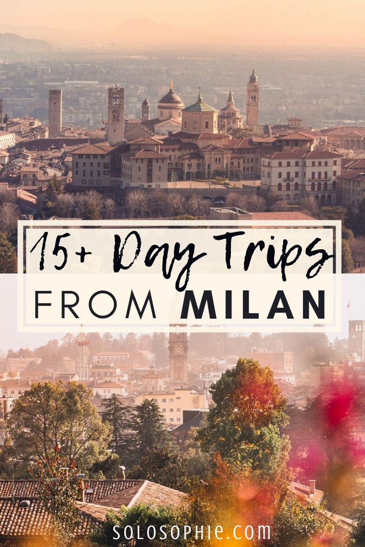 The Best Day Trips from Milan, Lombardy, Northern Italy: Here are the very best excursions from Milano; UNESCO train rides, secret medieval Italian cities, foodie experiences, and more!