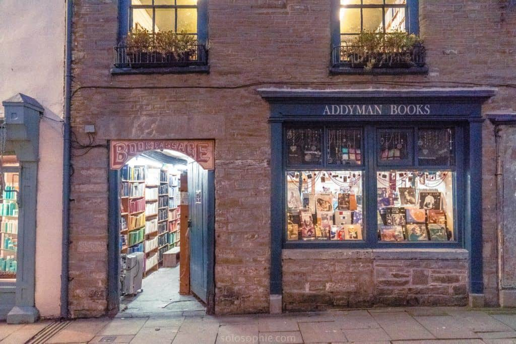 Hay-on-Wye guide, a book town for bibliophiles in South Wales: Addyman Books