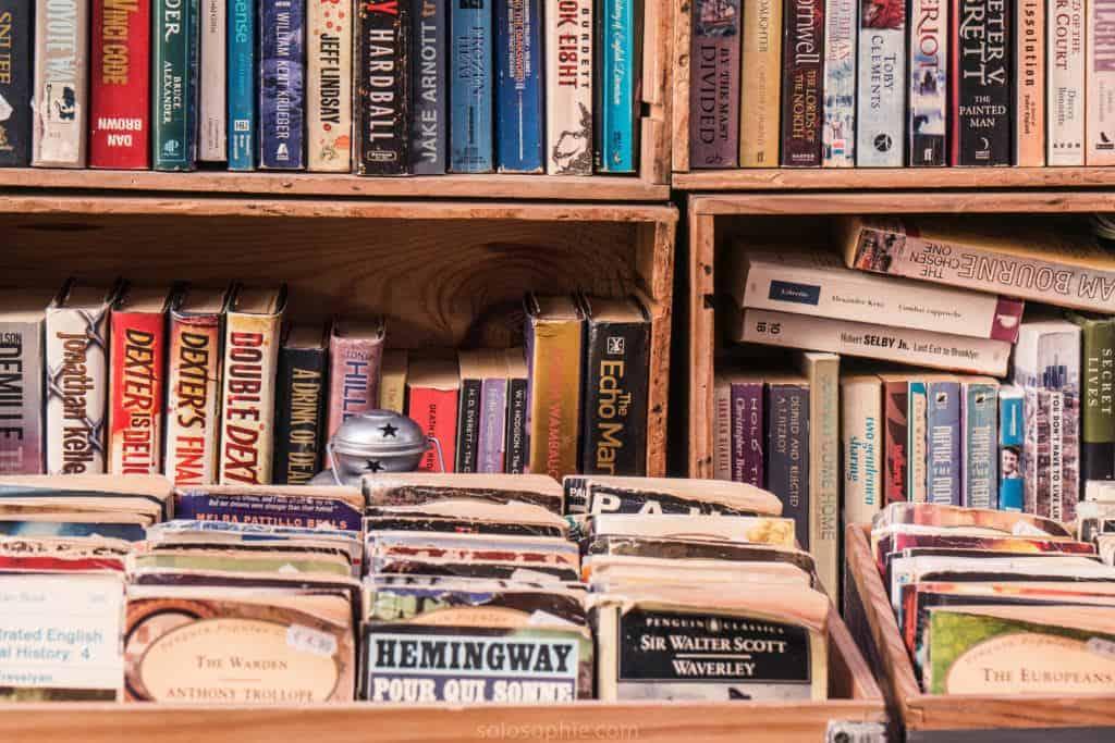 The Abbey Bookshop, Latin Quarter, Paris, France: books!