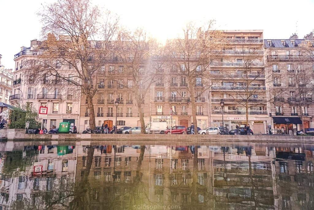 Canal Saint Martin Neighbourhood Guide: Things to do in the 10e arrondissement of Paris, France: shops along the waterfront