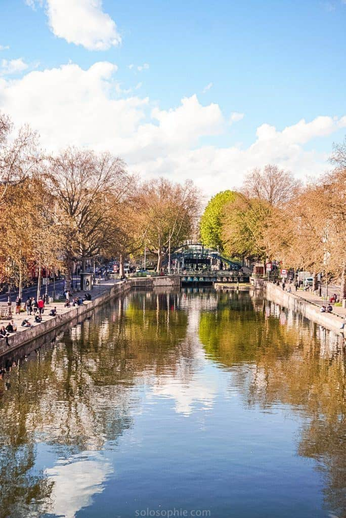 Canal Saint Martin Neighbourhood Guide: Things to do in the 10e arrondissement of Paris, France: sunny day
