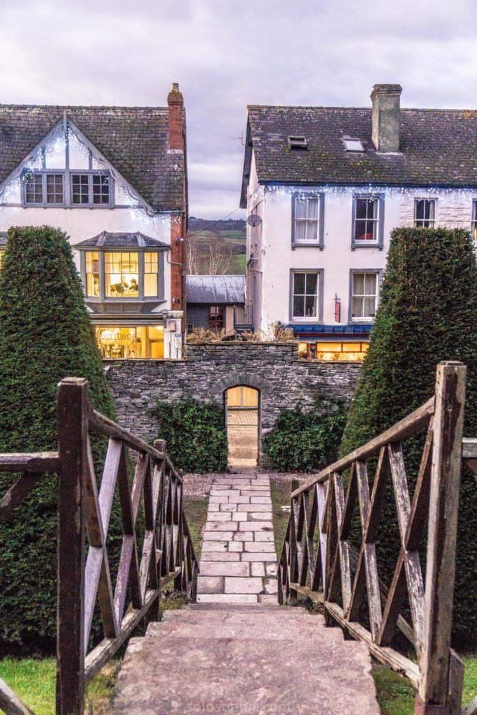 Hay-on-Wye guide, a book town for bibliophiles in South Wales: castle bookshop with honesty box
