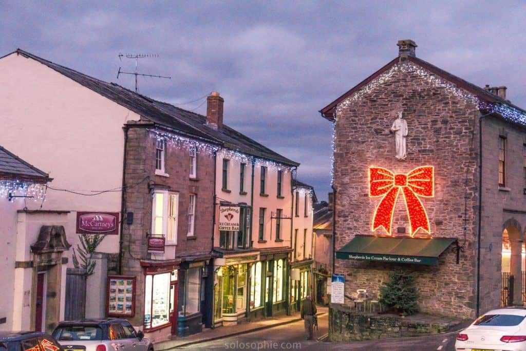 Hay-on-Wye guide, a book town for bibliophiles in South Wales: town centre
