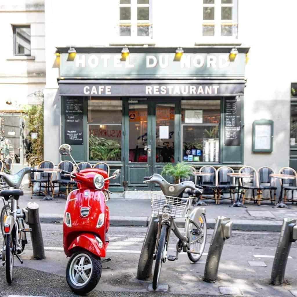 Canal Saint Martin Neighbourhood Guide: Best things to do- Hotel du Nord filming locations