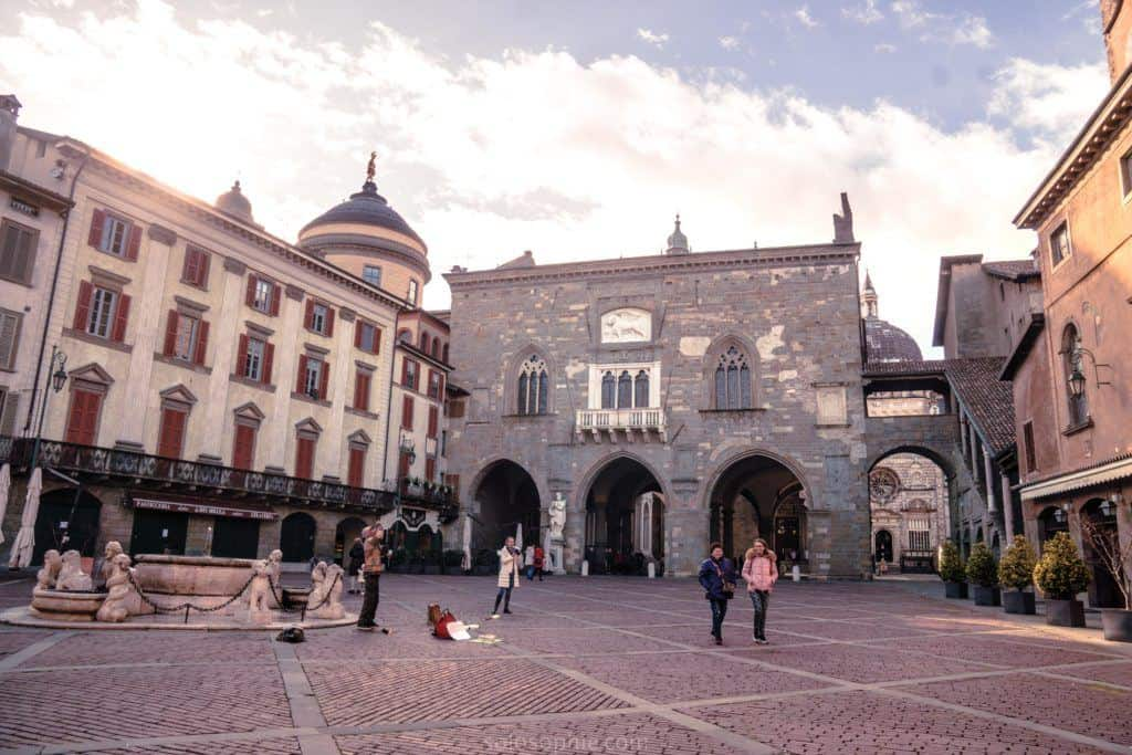 Best things to do in Bergamo, Lombardy, Italy: Piazza Vecchia