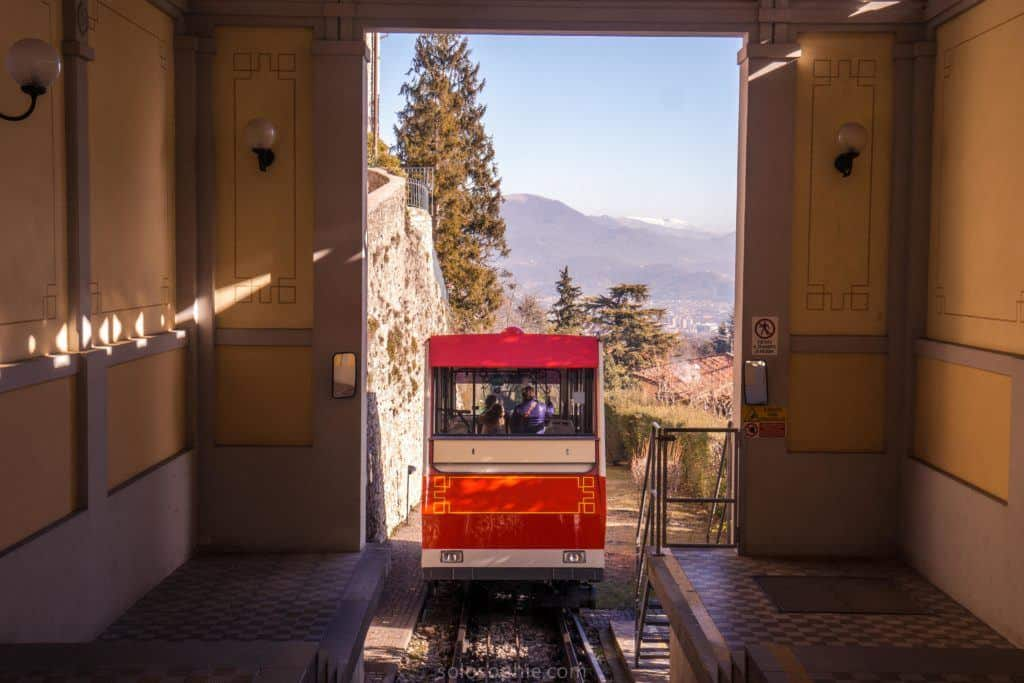 Best things to do in Bergamo, Lombardy, Italy: funicular