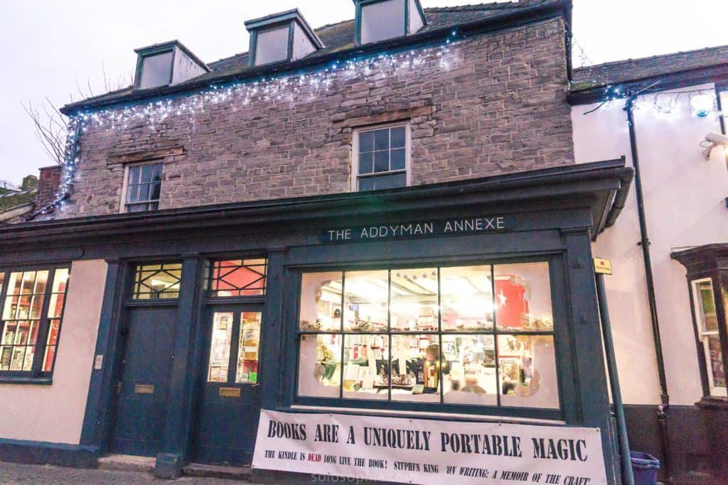 Hay-on-Wye guide, a book town for bibliophiles in South Wales: addyman annexe