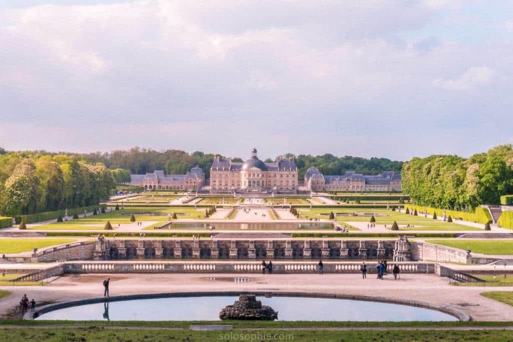 Vaux-le-Vicomte panoramic view