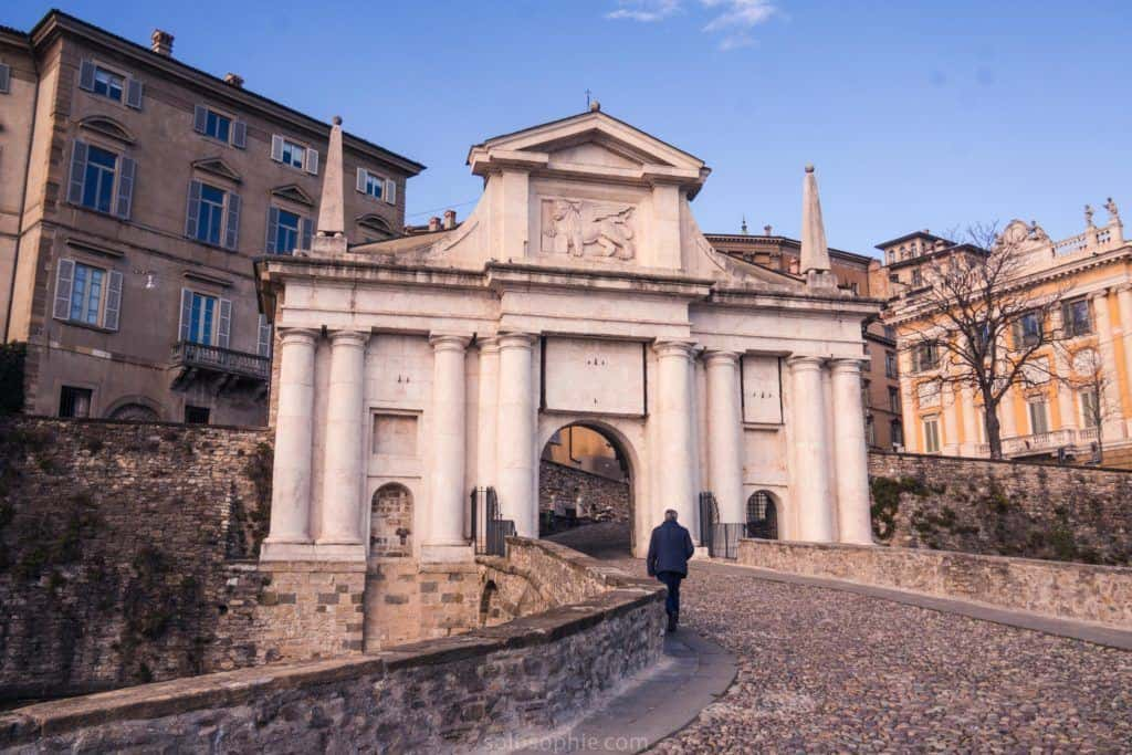 Best things to do in Bergamo, Lombardy, Italy: San Giacomo Gate