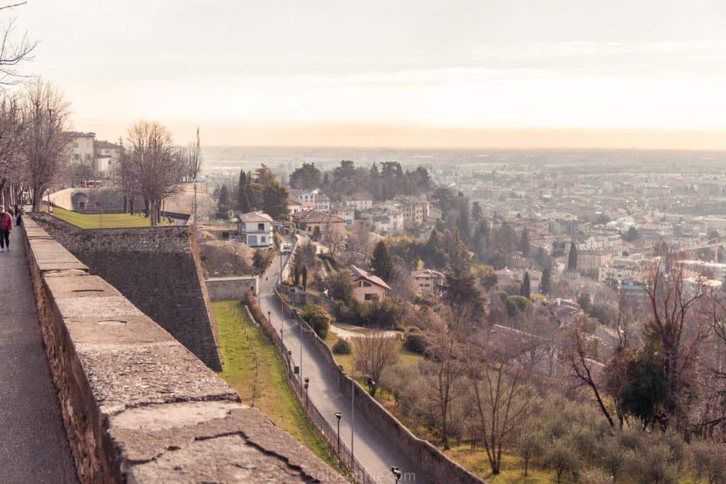 Best things to do in Bergamo, Lombardy, Italy: venetian walls