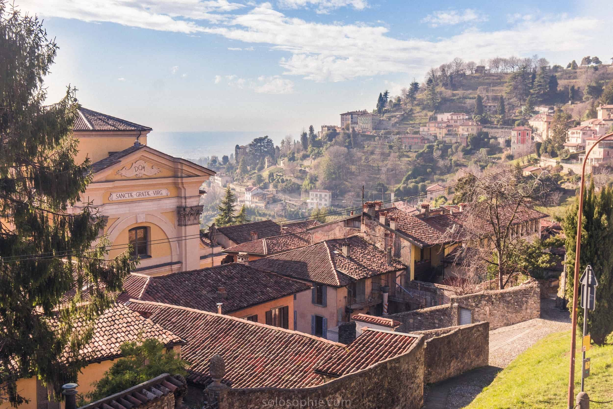 Best things to do in Bergamo, Lombardy, Italy: view of Bergamo