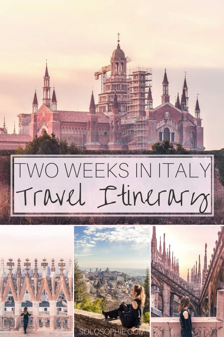2 weeks in Italy travel itinerary! Your complete guide to exploring the best of and highlights of Italy in just 14 days. Ancient towns, coastal villages, chic cities, and more!