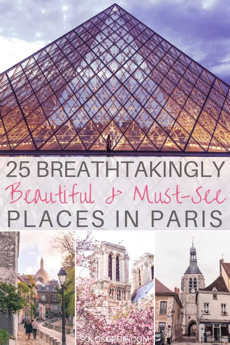 25 Breathtakingly beautiful places in Paris you won't want to miss on any visit to the capital of France. Some of the quirkiest and prettiest attractions you simply must see!
