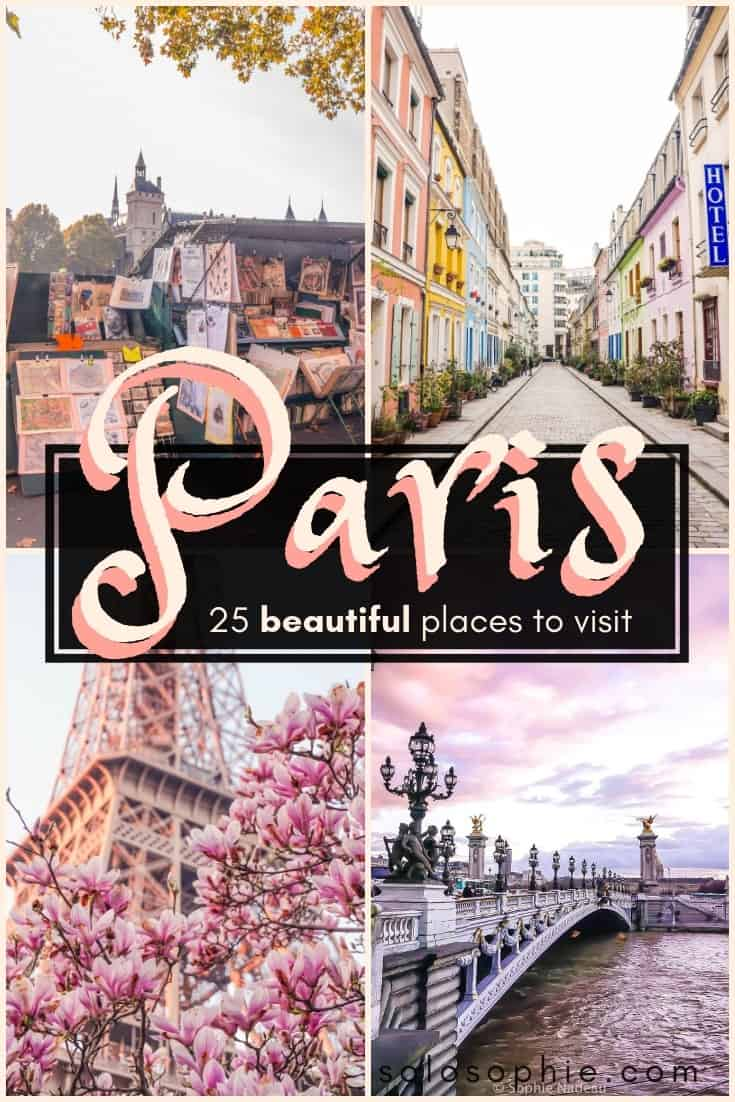 25 charming and Incredible French attractions and Places to Visit in Paris, France, Europe (here are the best hidden gems, stunning cafés, historic sites, lovely parks, etc)