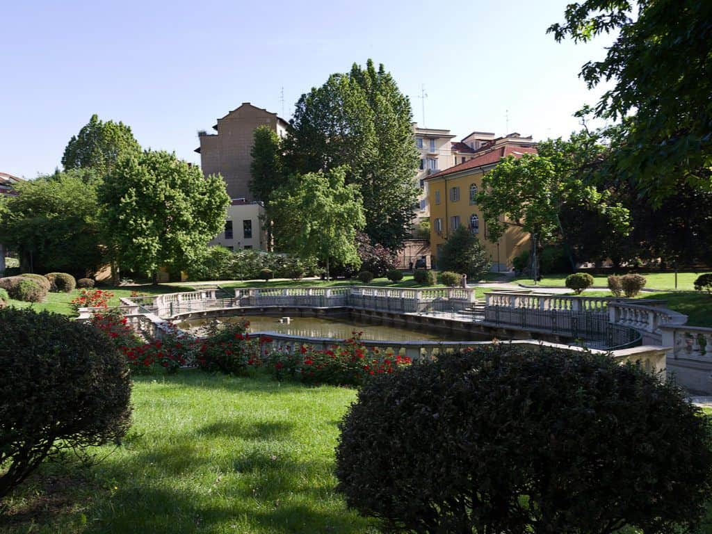 Guastalla gardens Milan, Italy