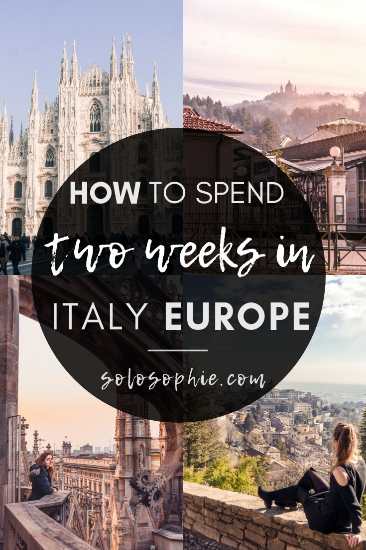 In search of the best Italy itinerary? Here's your complete guide on how to spend two weeks in Italy, Southern Europe. Highlights of this tour include hidden gems, where to stay, and how to get around!