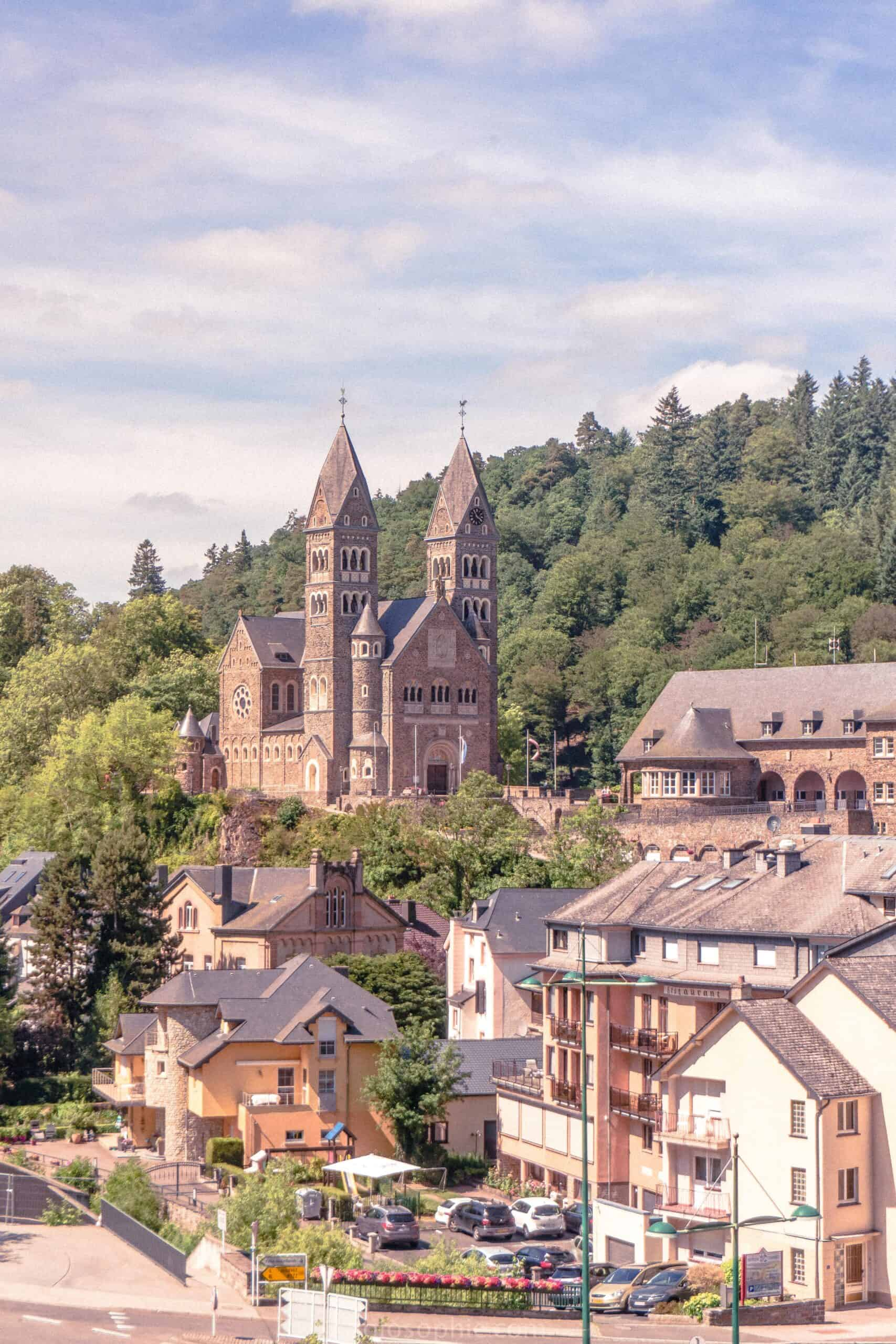 A quick guide to the best things to do in Clervaux, a quaint town in northern Luxembourg, central Europe. Best things to do in the pretty city of Clervaux; abbey, castle, museums, and views!: church