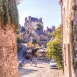 10 gorgeous places to visit in Northern France: dreamy view of Dinan, Brittany