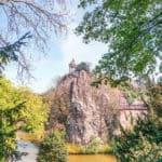 Parc des Buttes Chaumont, 19e arrondissement, Paris, France: park
