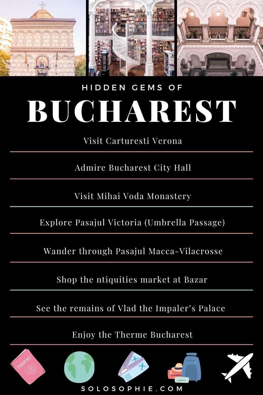 Best of Bucharest Romania/ 10 Hidden Gems & Unusual, Hidden Secret Spots in Bucharest