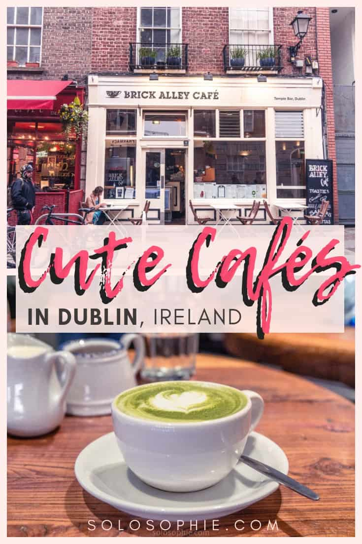 Cute Cafés and coffee shops in Dublin, Ireland. Here's your complete guide to the best of Irish cafes in the Capital of Ireland (the Emerald Isle)