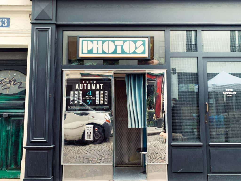Fotoautomat,53 Rue des Trois Frères