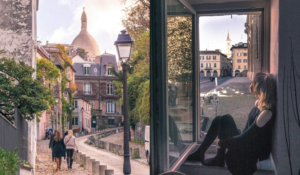 France vs Italy: Which should you visit? Montmartre & Pavia.