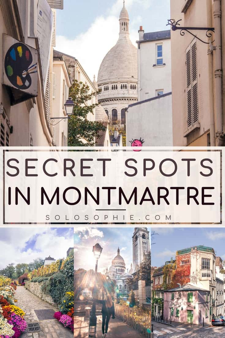Hidden gems of Paris; Secret Spots in Montmartre & A Complete Guide to the best of unusual, offbeat, and quirky things to do in the 18e arrondissement Paris, France