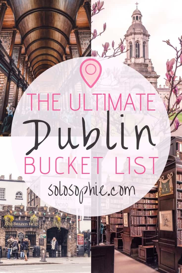 The ultimate Dublin bucket list. Here are some of the very best things to do in Dublin Ireland. Best attractions to visit, day trips you must take, where to eat and what to buy!
