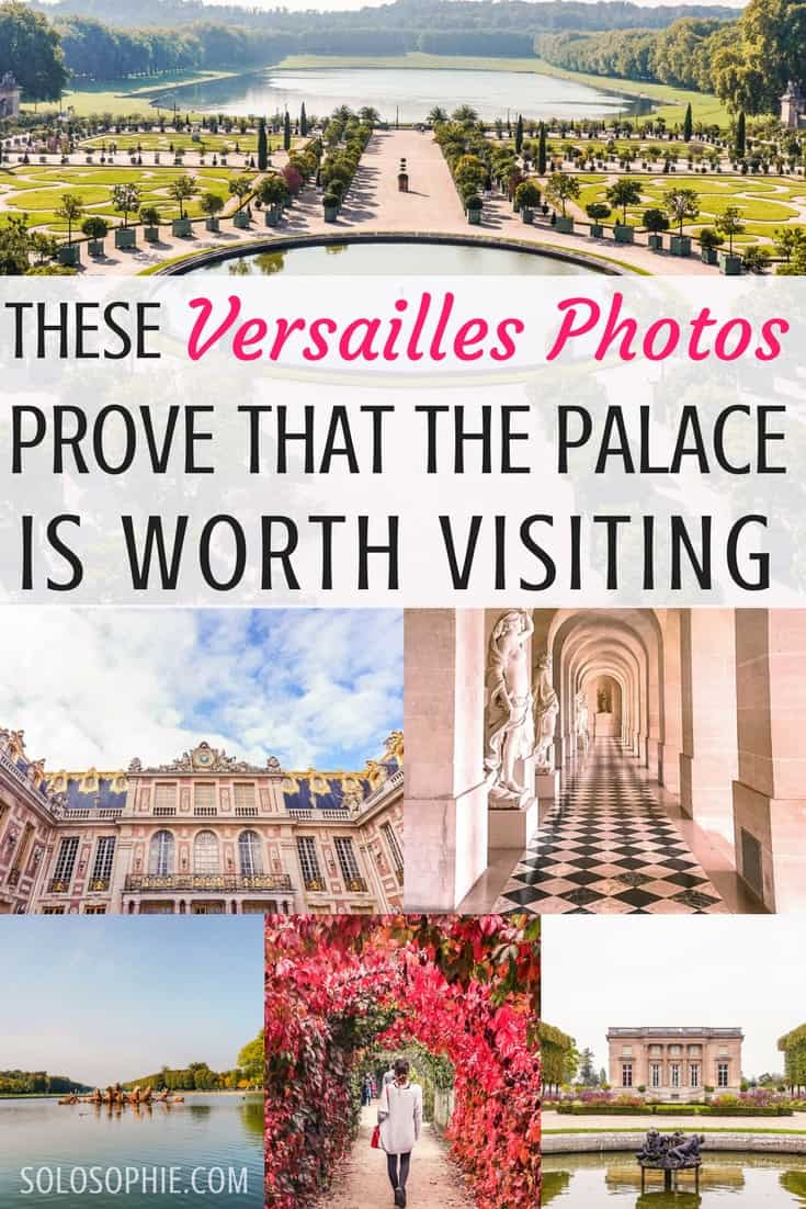These Versailles photos prove that the palace, gardens, Petit Trianon, and Grand Trianon are totally worth the trip from Paris, France!