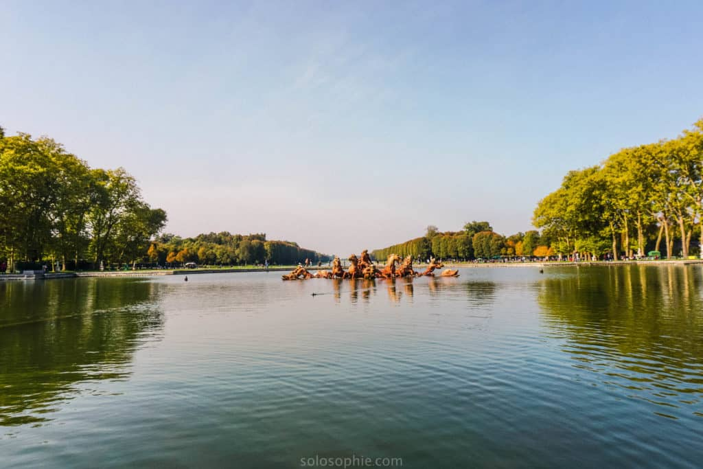 These Versailles photos prove that the palace, gardens, Petit Trianon, and Grand Trianon are totally worth the trip from Paris, France! Apollo Fountain