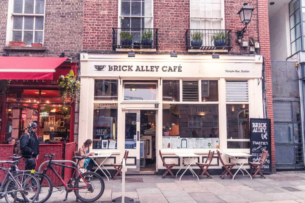 Brick Alley Café, Temple Bar, Dublin, Ireland
