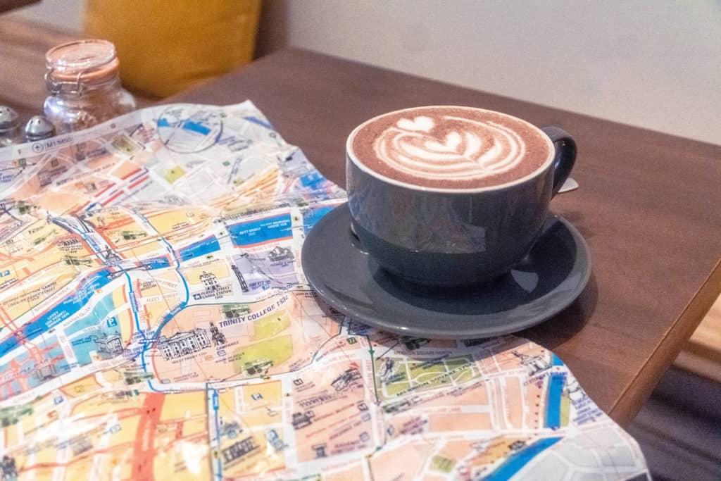 Cracked Nut Coffee Shop, Dublin, ireland