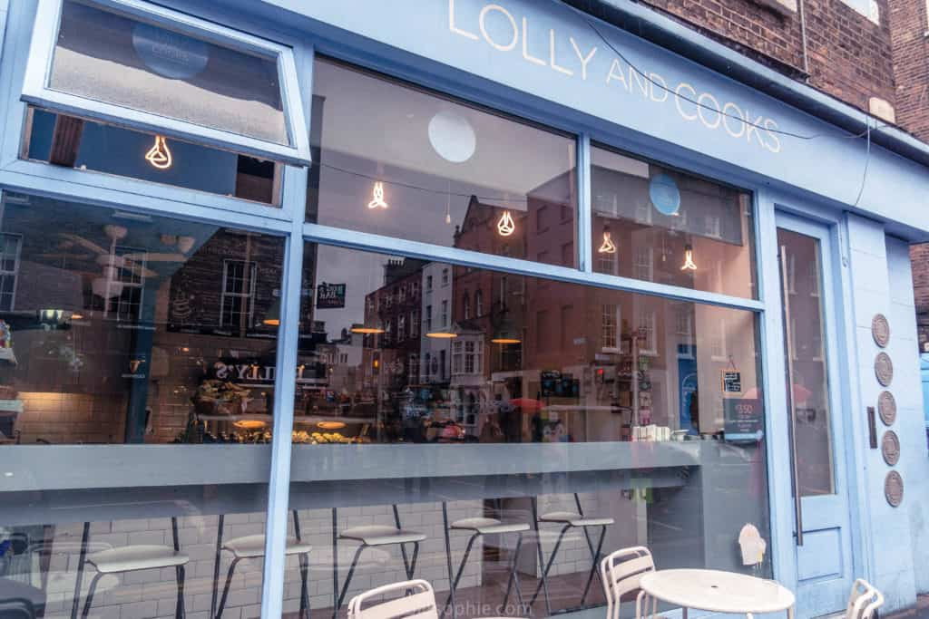 Lolly and Cooks, Dublin coffee shop