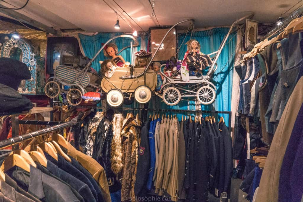 Lucy's Lounge Vintage Clothing Store, Dublin, Ireland