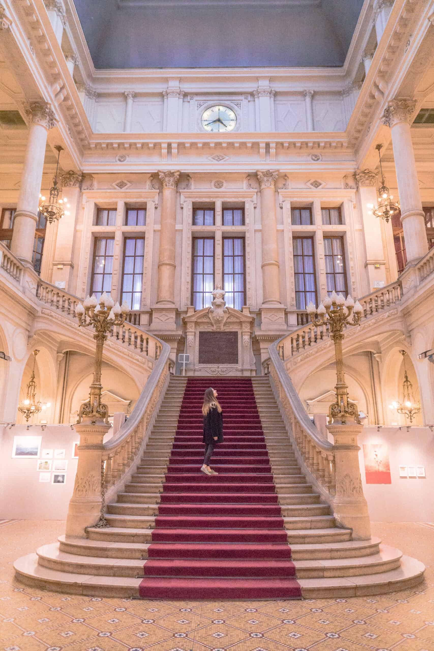 History & Architecture of the Mairie du 10e Arrondissement of Paris: town hall of the 10th district, Paris, France
