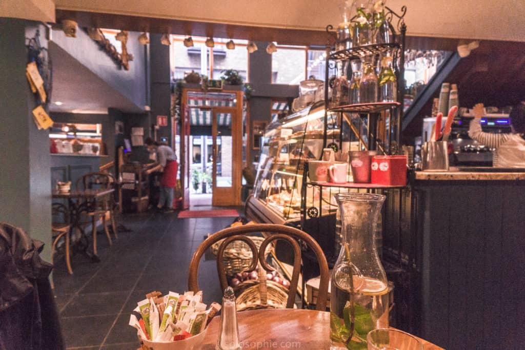 Queen of Tarts coffee shop and patisserie, Dublin, ireland