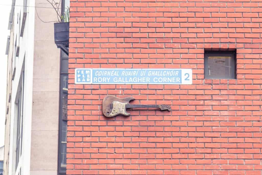 Rory Gallagher Corner, Dublin, Ireland