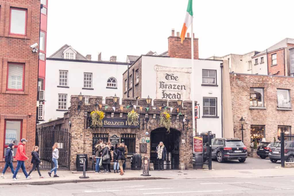 The Brazen Head, Dublin, Ireland