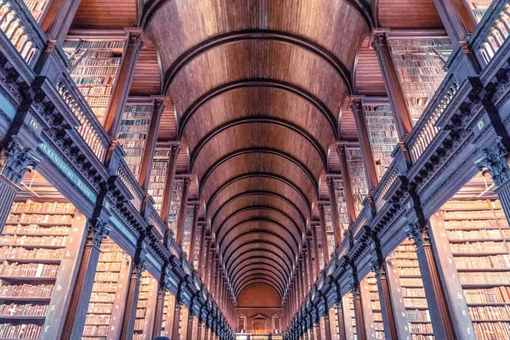 Trinity College Dublin Library & the Book of Kells, Dublin, ireland