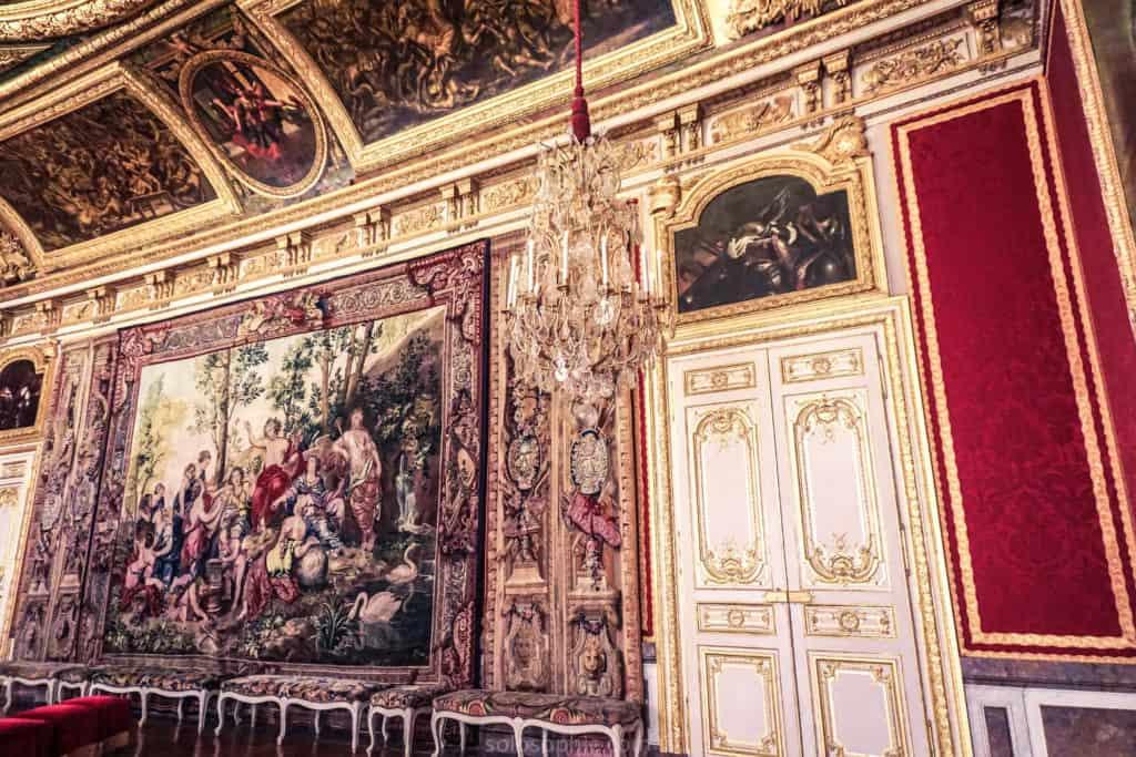 Versailles room interior