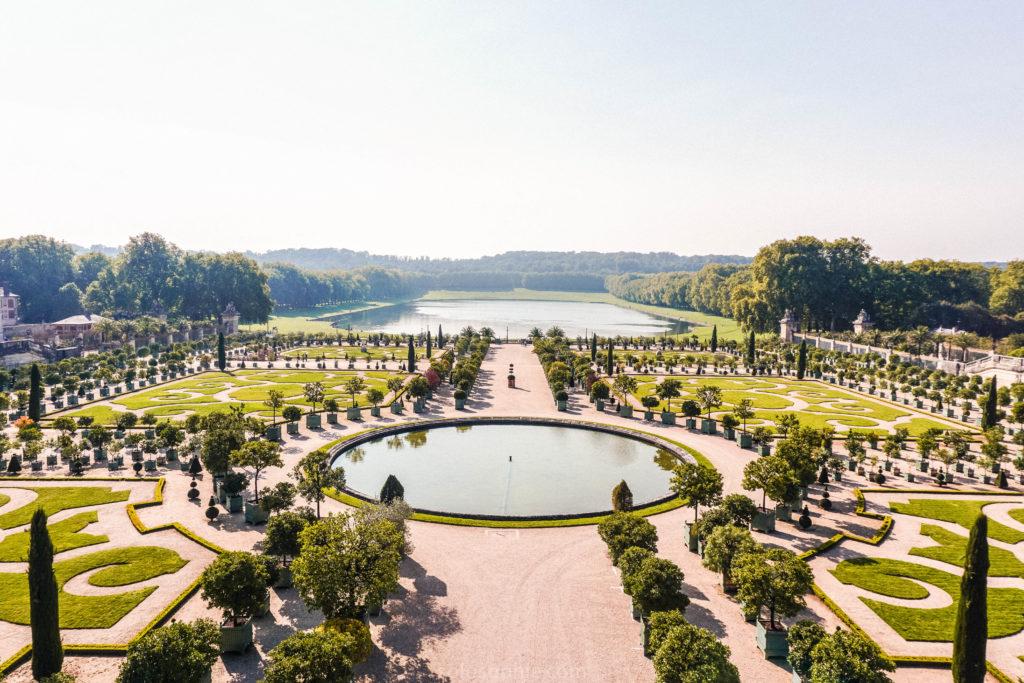 Versailles Garden, Ile de France, France