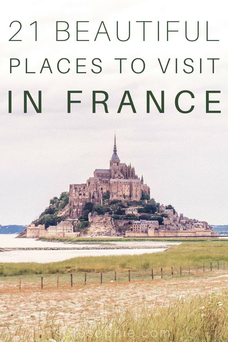 21 Breathtakingly beautiful places to visit in France: from glittering cities to natural wonders, there's a French destination for everyone to enjoy! Highlights include Normandy, Ile de France and French Châteaux