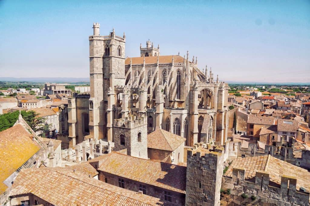Where o Find the Best View of Narbonne: Donjon Gilles Aycelin, Narbonne, Languedoc, France