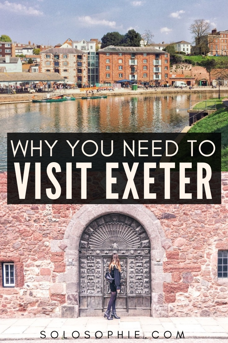 Here's why you need to visit Exeter, the capital city of Devon on your next England adventure. How to visit the city of Exeter and what to do once there; admire the architecture, enjoy the coffee culture, visit the museum, and more!